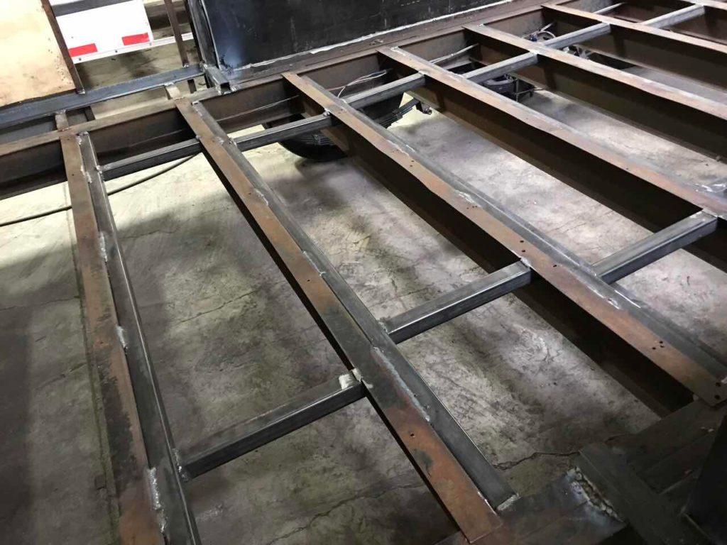 Discount Oil Change >> RV floor, walls and roof